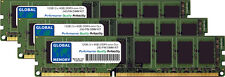 12GB (3x4GB) DDR3 1066/1333/1600/1866MHz 240-PIN kit DIMM RAM para computadoras de escritorio/PC