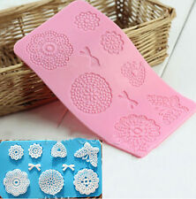 Silicone Mat Butterfly Fondant Sugar Craft Mould Cake Decorating Mold Tool