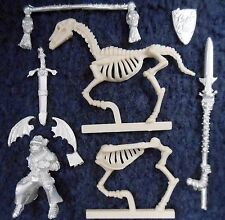 1997 Undead Wight Standard Bearer on Skeleton Steed Warhammer Citadel Cavalry GW