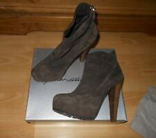 Brian Atwood ankle broun suede shoes,TRONCHETTO 140mm,size 40.5(UK 7)