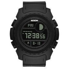 NEW NIXON SUPER UNIT ALL BLACK A921 001