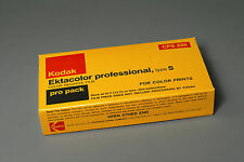 5 roll pack EktacolorType S Prof 220 film, expired 11/75, frozen since purchase