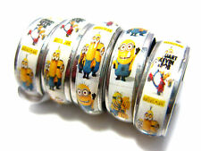 wholesale 50pcs mixed lot the minions stainless steel kids band cartoon rings