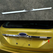 Rear Trunk Lid Decorator trim strip Cover Fit For Ford Focus Hatchback 12-2014