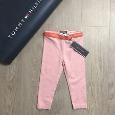 BNWT Gorgeous Baby Girls Tommy Hilfiger Pink Leggins 6-9m 74cm 100% Genuine