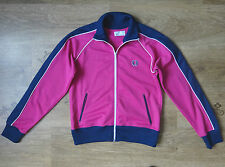 Fred Perry Ladies Womens Sports Track Jacket  Pink Size 10,Eur 38,VGC !