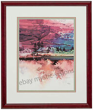 Michael Atkinson SECLUDED VALLEY Matted & Framed Signed & Numbered Limited Ed
