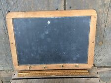 Antique Primitive Slate Chalkboard Wood Frame