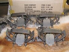 4 New Duke # 4 offset  4X4 Coil Spring Traps  Beaver Bobcat Coyote Wolf Trapping