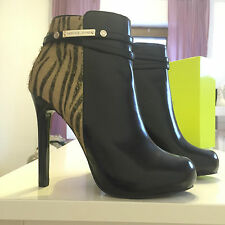 Versace Stiefeletten Stiefel Ankle Boots EUR 39 US 8 UK 6 neu
