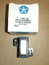 Nos 1969-71 Chrysler Dodge Plymouth B & C Body Windshield Wiper Switch Super Bee