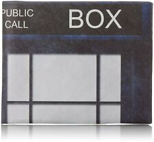 TYVEK Blue Police Phone Box Design Wallet Dynomighty Mighty Mens Tardis Wallets