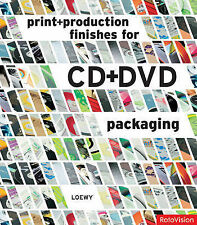 Print and Production Finishes for CD and DVD Packaging,Loewy,New Book mon0000009