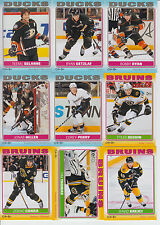 2012-13 OPC STICKERS COMPLETE SET 1-100 a