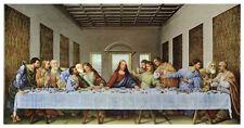 RELIGIOUS ART PRINT - THE LAST SUPPER, 1497 Leonardo da Vinci 44x25 Jesus Poster