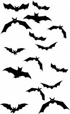 FLYING BAT temporanea Finti Tatuaggi WATERPOOF Vampiro Halloween Body Art Transfer