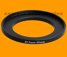 40.5mm to 55mm 40.5-55 Stepping Step Up Filter Ring Adapter 40.5-55mm mm