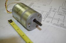 BARBER COLMAN  GEARED DC MOTOR with AC GENERATOR  CYQM23061-5-2  12VDC
