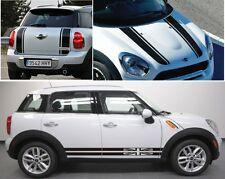 BONNET +SIDE+BOOT  MINI COOPER COUNTRYMAN /CLUBMAN Graphic,Decal, Pick Colour