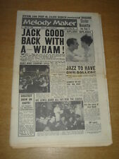 MELODY MAKER 1960 APRIL 9 JACK GOOD MARTY WILDE RONNIE SCOTT EVERLY BROTHERS +