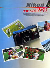 Nikon TW ZOOM 35 - 70 Prospekt brochure german - (0787)