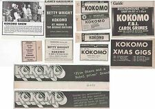 KOKOMO : CUTTINGS COLLECTION -adverts-