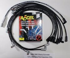 CHEVY CORVETTE 1985-1991 5.7L 350 TPI ACCEL 8mm EXTREME-TEMP Spark Plug Wires