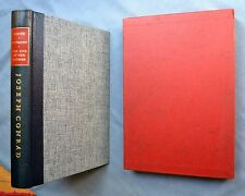 JOSEPH CONRAD THREE TALES OF SEA, 1972 LIMITED EDITIONS CLUB SIGNED BY SHORE