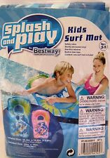 Inflatable Pool Toys Kids Surf Mat Blue For Pool Or Beach