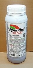 Roundup 360 PLUS Unkrautvernichter, Glyphosat 1 L. Import MONSANTO