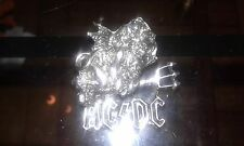 ac/dc pin promo 1992  badge poker ultrarare