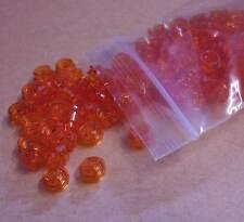 Lego 100 x 1er flach rund Rundplatte 1 x 1 Stein orange neon transparent Neu