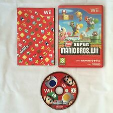 New super mario bros. Nintendo Wii pal complet