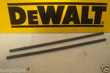 PAIR OF DEWALT 300MM X 8MM FENCE RODS FOR D26204 DW615 614 613 ROUTERS 868080-00