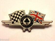 Ace Cafe Racer Union Jack Flag  - Classic Motorcycle Enamelled Metal Badge