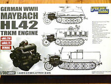 G.W.H 1:35 Maybach HL42 TRKM sdkfz.250/11 DEMAG Half-Track Engine Model Kit