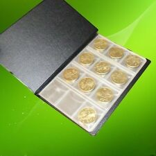120-Pockets 3x3cm Coins Currency Holders Inserts Sleeves Collector Page M1770 Ql
