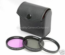 XIT Pro Series 46mm Multi Coated HD 3 Piece (UV, CPL, FLD) Digital Filter Set