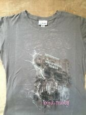 Women's Disneyland Resort Gray Hollywood Tower of Terror T-Shirt Size XXL New