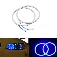 2x 80 MM COB LED Angel Eyes Halo Ring Bulb Car Fog light Lamp For Skoda