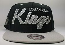 Los Angeles Kings Mitchell & Ness Vintage Draft Special Script Snapback Hat NHL