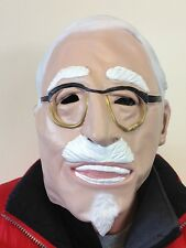 Old Australian Artist Mask Colonel TV Comedian Latex Fancy Party Stag Masquerade