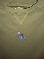 NWT! LIFE IS GOOD MEN GOOD MOVES RUNNING PERFORMANCE / WORKOUT TEE...BIKE   (L)