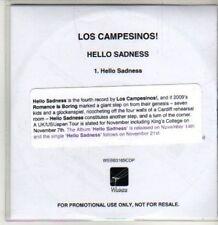 (CU172) Los Campesinos!, Hello Sadness - 2011 DJ CD