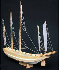 Chinese classical wooden Sailboat model kit sacle1/80 Sand - bottomed ship model
