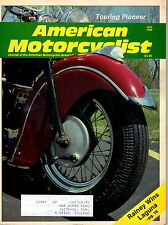 Amcerican Motorcyclist magazine July 1990  Touring Pioneer