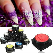 12 x Nail Art 3D UV Glue Paint Acrylic Sculpture Gel Manicure Modeling Tools Kit