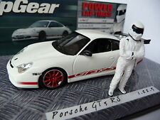 Minichamps 1:43 Porsche 911 GT3 RS White with Stig Figurine 436200