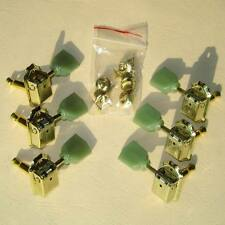 Gold 3R3L Deluxe Tuning Pegs Keys Guitar Machine Heads Fits Les Paul Epiphone
