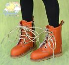 "Martin Stitch Boots Shoes Orange for Tonner Matt 14"" Kish Unoa MSD Doll"